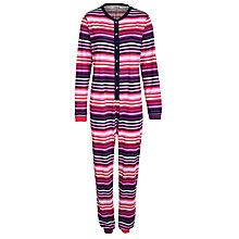 Buy John Lewis Stripe Onesie, Multi Online at johnlewis.com