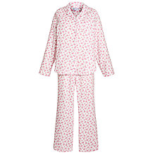Buy Lola Rose Butterfly Print Pyjama Set, Ivory / Pink Online at johnlewis.com