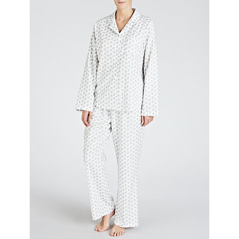 Buy Lola Rose Bunnies Pyjama Set,  Ivory / Grey Online at johnlewis.com