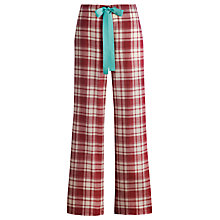 Buy Joules Fleur Pyjama Pants, Red Online at johnlewis.com