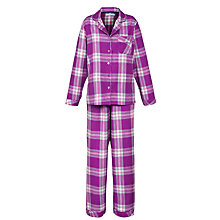 Buy John Lewis Flannel Check Pyjama Set Online at johnlewis.com