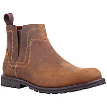 Buy Timberland Earthkeepers Original Pull On Oiled Leather Boots, Red Brown Online at johnlewis.com