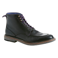 Buy Ted Baker Farsot Leather Apron Toe Lace Up Boots Online at johnlewis.com
