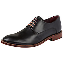 Buy Ted Baker Irron Etter 2 Leather Derby Shoes, Black Online at johnlewis.com