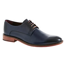 Buy Ted Baker Irron Etter 2 Leather Derby Shoes, Dark Blue Online at johnlewis.com