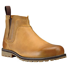 Buy Timberland Earthkeepers® Leather Slip-on Boots, Wheat Online at johnlewis.com