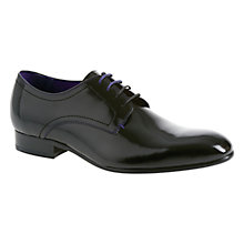 Buy Ted Baker Billay 3-Eye Hi-Shine Leather Derby Shoes Online at johnlewis.com
