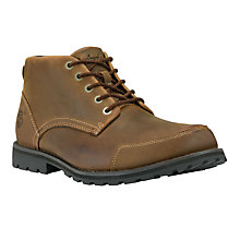Buy Timberland Earthkeepers® Burnished Leather Chukka Boots, Red Brown Online at johnlewis.com