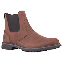 Buy Timberland Stormbucks Waterproof Leather Chelsea Boots, Brown Online at johnlewis.com