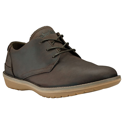 Buy Timberland Travel Collection Leather Derby Shoes, Dark Brown Online at johnlewis.com