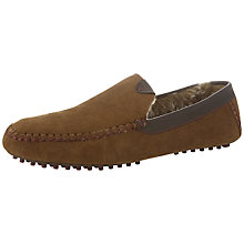 Buy Ted Baker Carota 2 Faux Fur Lining Suede Slippers Online at johnlewis.com