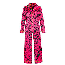 Buy DKNY Boxed Animal Print Pyjama Set Online at johnlewis.com
