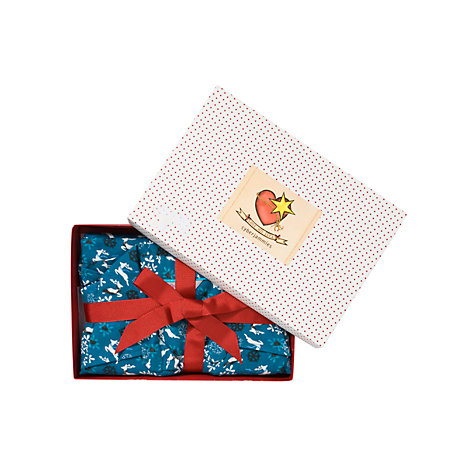 Buy Cyberjammies Print Pyjama Gift Set, Blue Online at johnlewis.com
