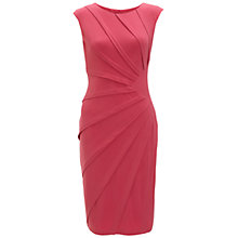 Buy Adrianna Papell Seam Burst Dress, Radish Online at johnlewis.com