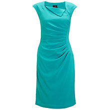 Buy Adriana Papell Pleat Sheath Dress Online at johnlewis.com