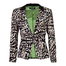 Buy Betty Barclay Animal Print Jacket, Beige / Black Online at johnlewis.com
