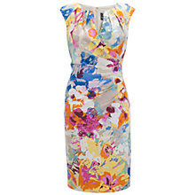 Buy Adrianna Papell Floral Dress, Multi Online at johnlewis.com