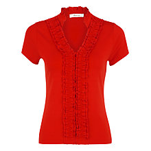 Buy Precis Petite Jersey Top, Poppy Red Online at johnlewis.com