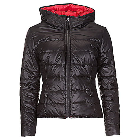 Buy Betty Barclay Reversible Padded Jacket, Black / Red Online at johnlewis.com