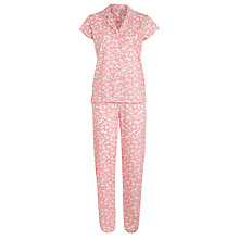 Buy John Lewis Henley Floral Pyjama Set, Multi Online at johnlewis.com