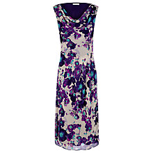Buy Windsmoor Poppy Print Dress, Purple Online at johnlewis.com