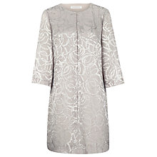 Buy Windsmoor Jacquard Jacket, Cream Online at johnlewis.com