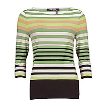 Buy Betty Barclay Stripe T-Shirt, Green/Black Online at johnlewis.com