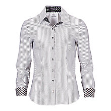 Buy Betty Barclay Stripe Shirt, White/Black Online at johnlewis.com