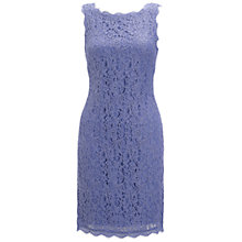 Buy Adrianna Papell Sleeveless Lace Dress, Heather Online at johnlewis.com