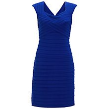 Buy Adrianna Papell Basket Weave Dress, Marine Online at johnlewis.com