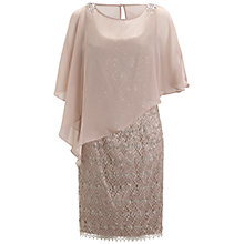 Buy Adrianna Papell Mermaid Dress, Rose Gold Online at johnlewis.com