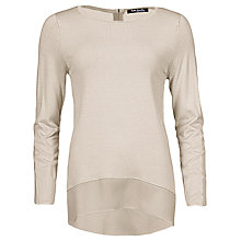 Buy Betty Barclay Round Neck Knit Top, Pearl Grey Online at johnlewis.com