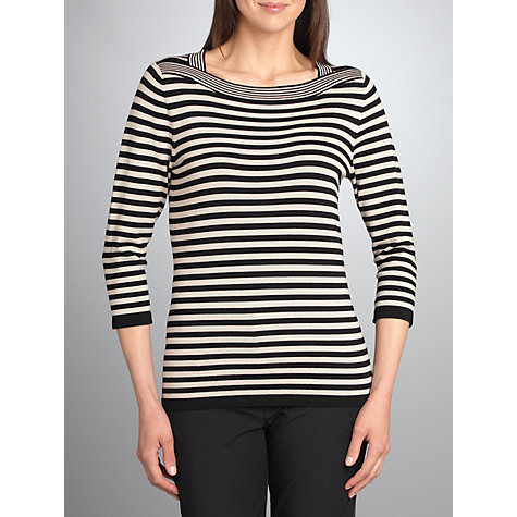 Buy Betty Barclay Stripe Knit Top Online at johnlewis.com