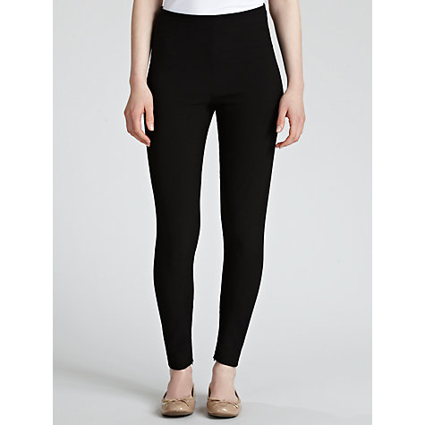 Buy Crea Concept Zip Ankle Legging, Black Online at johnlewis.com