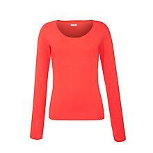 Buy Crea Concept Scoop Neck Long Sleeve Top Online at johnlewis.com