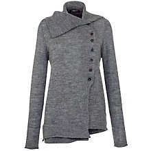 Buy Crea Concept Side Button Cardigan, Grey Online at johnlewis.com
