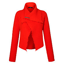 Buy Crea Concept Fringed Cardigan, Orange Online at johnlewis.com
