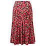 Buy Viyella Petite Animal Skirt, Cranberry Online at johnlewis.com
