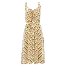Buy NW3 by Hobbs Striped Dress, Sweet Vanilla Online at johnlewis.com