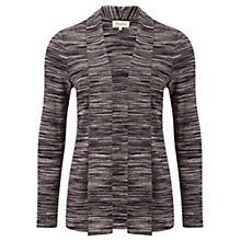 Buy Viyella Fine Stripe Cardigan, Navy / Space Online at johnlewis.com