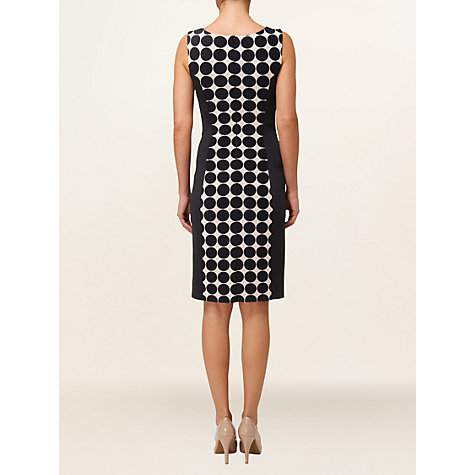 Buy Phase Eight Illusion Dress, Black/Cameo Online at johnlewis.com