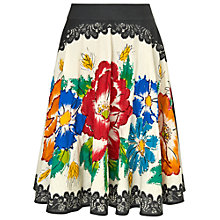 Buy Phase Eight Frida Skirt, Black Online at johnlewis.com