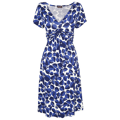 Buy Phase Eight Newbury Print Dress, Black/White Online at johnlewis.com