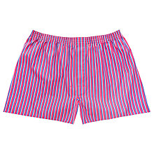 Buy Thomas Pink Clevedon Stripe Boxer Shorts Online at johnlewis.com