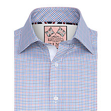 Buy Thomas Pink Kemball Check XL Sleeve Shirt Online at johnlewis.com