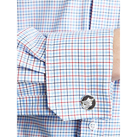 Buy Thomas Pink Kemball Check XL Sleeve Shirt, Blue/Red/White Online at johnlewis.com