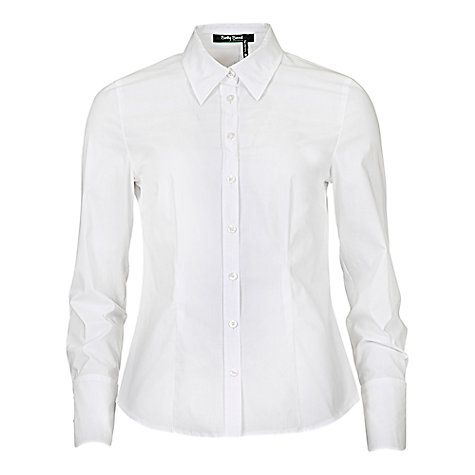 Buy Betty Barclay Button Shirt, Bright White Online at johnlewis.com