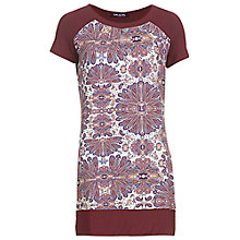 Buy Betty Barclay Flower Print Tunic, Camel / Pink Online at johnlewis.com