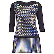 Buy Betty Barclay Diamond Tunic, Navy/Blue Online at johnlewis.com