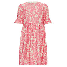 Buy Somerset by Alice Temperley Girls' Lace Dress, Pink Online at johnlewis.com